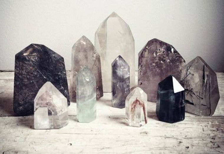 Specialty curated crystal collection
