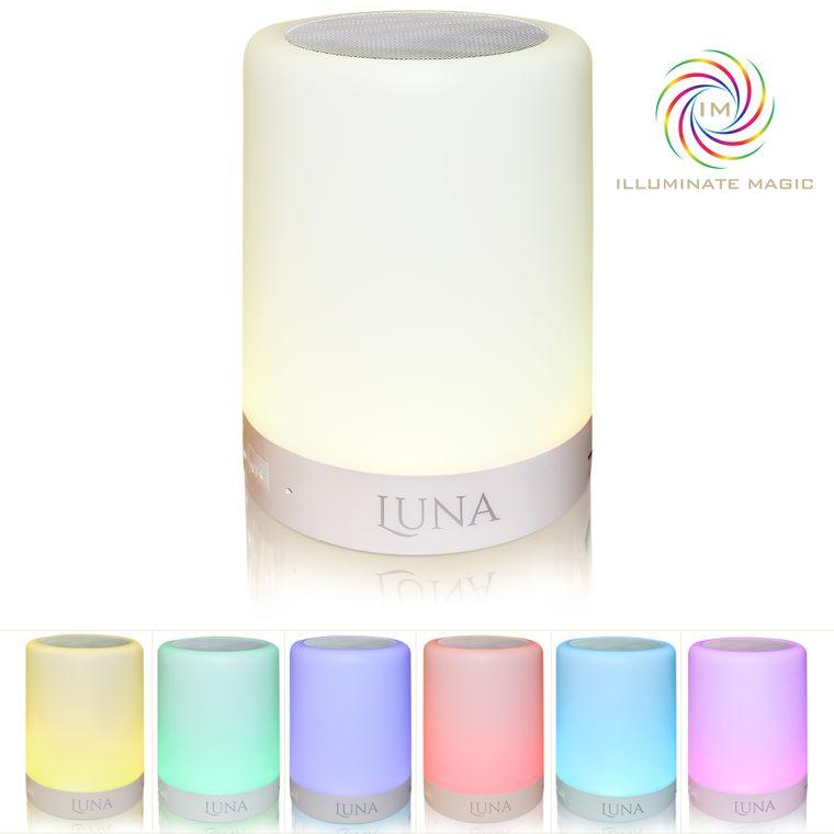 Luna Bluetooth Night Light Speaker