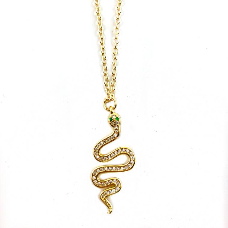 Midlength Cobra Necklace