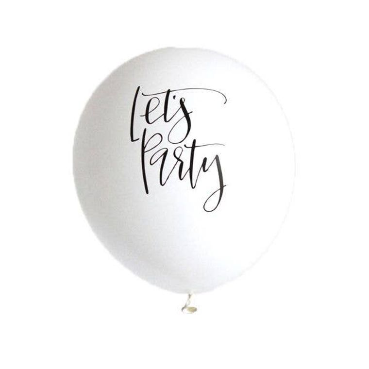 Lets Party Latex Balloons