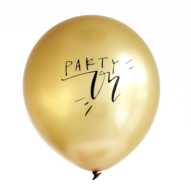 Party On Latex Balloons