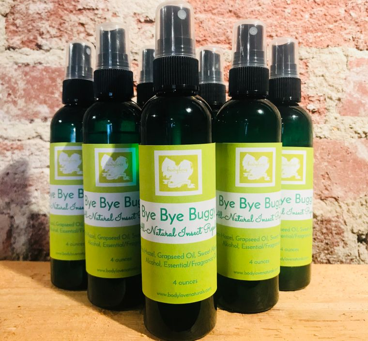 Bye Bye Buggy All Natural Insect Repellent