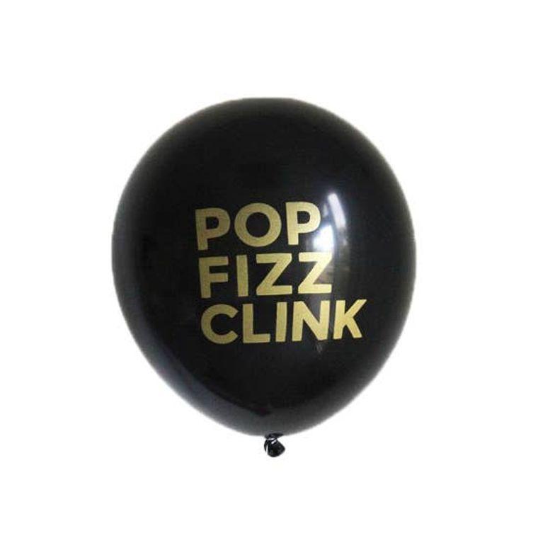 Pop Fizz Clink Latex Balloons