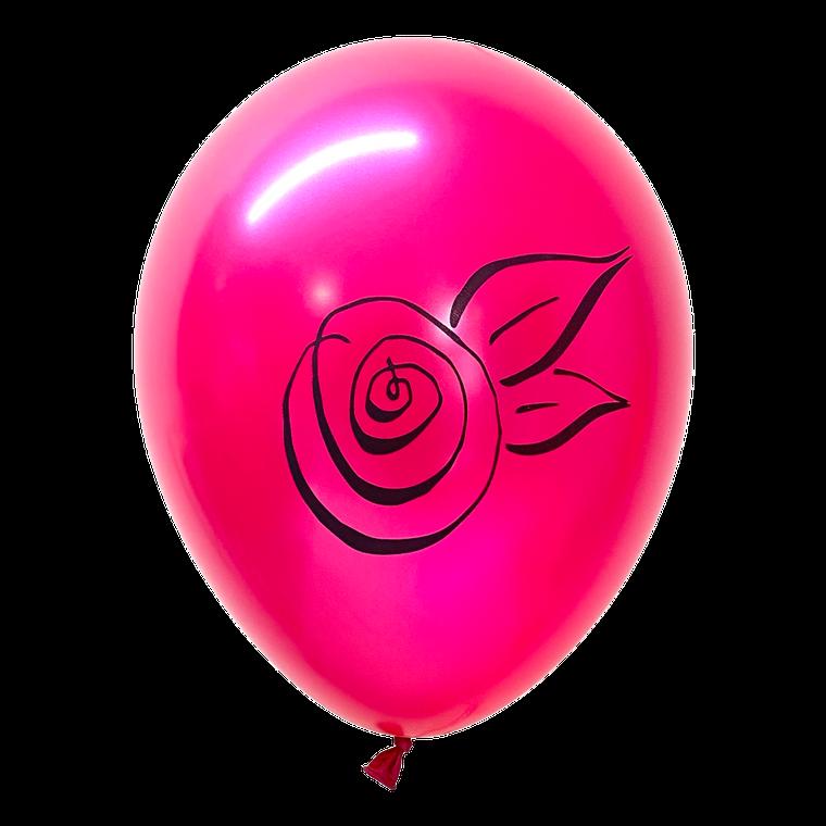 Rosette Latex Balloons