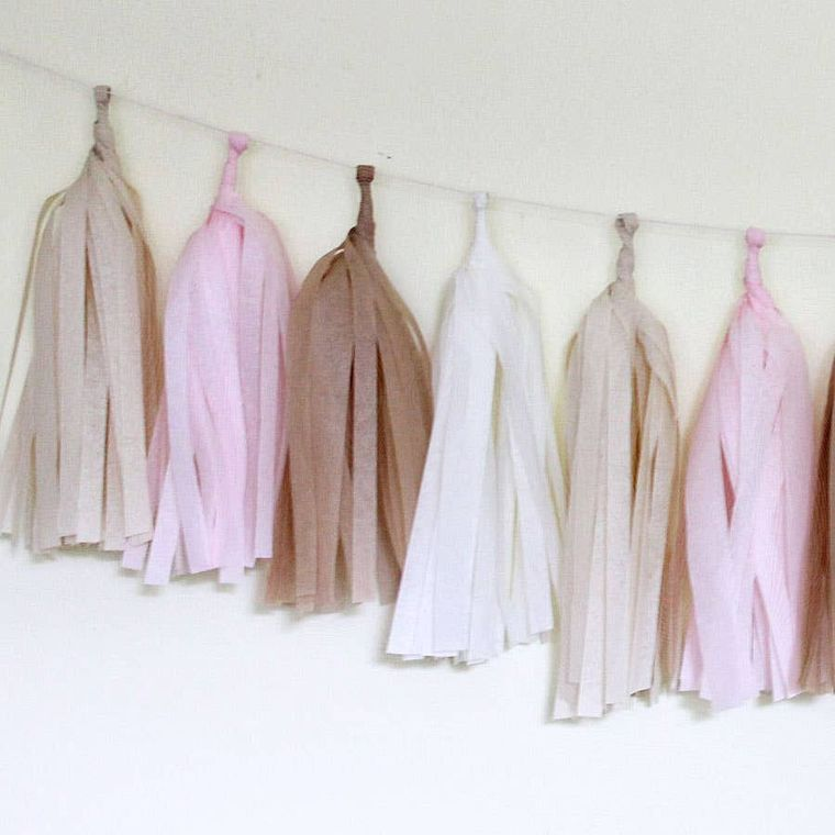 Blushing Tissue Tassel Kit