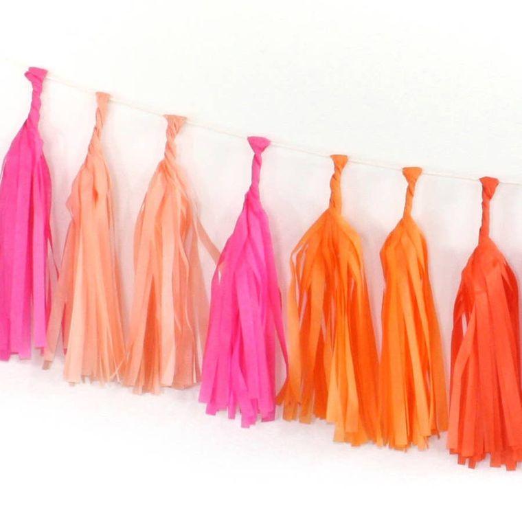 Bright Tissue Tassel Kit