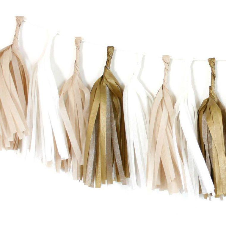 Golden Tissue Tassel Kit