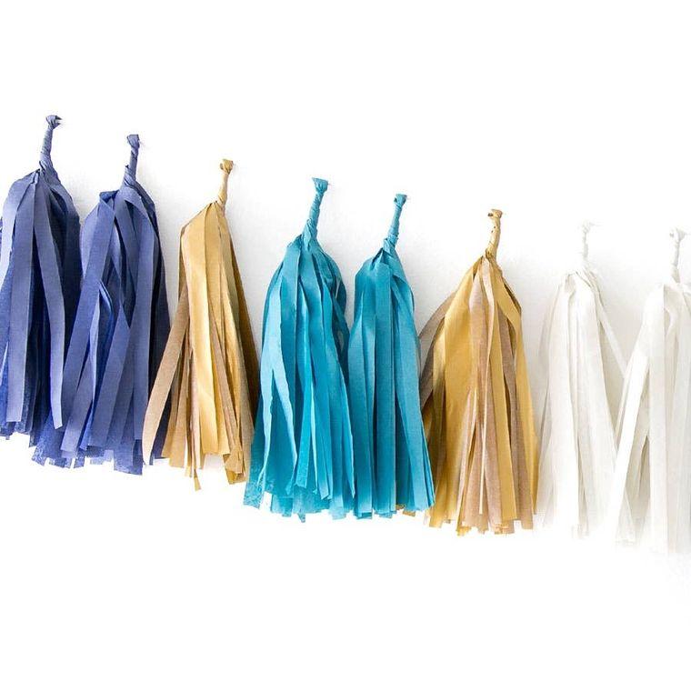 Indigo Tissue Tassel Kit