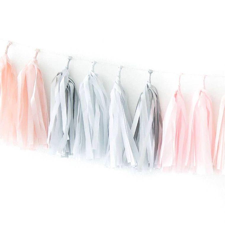 Pink Quartz Tassel Garland Kit