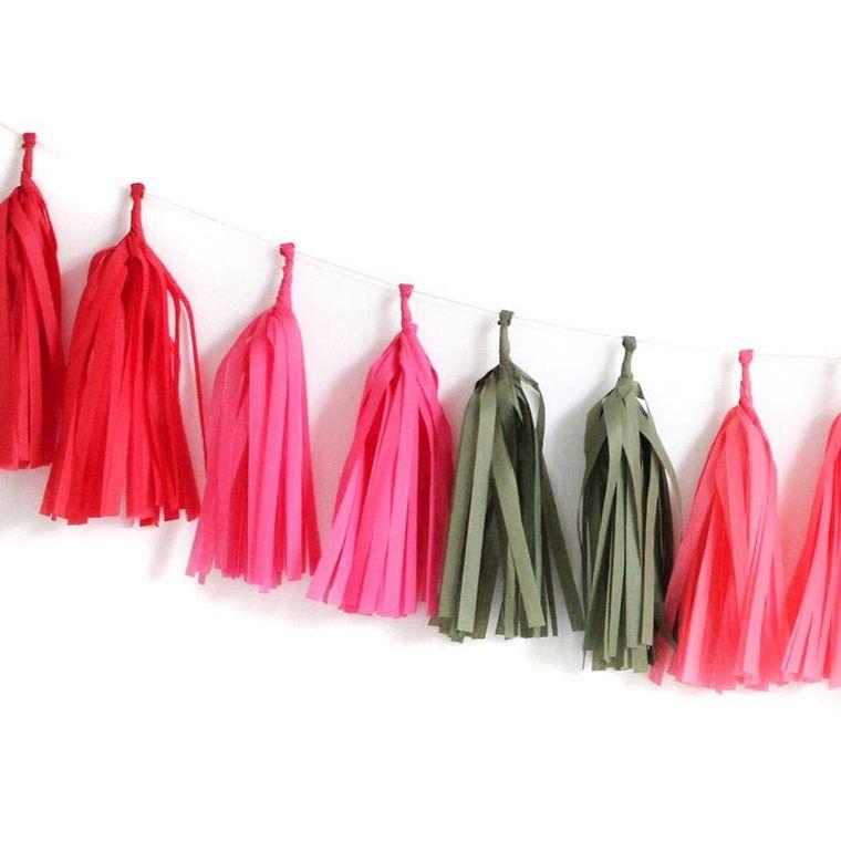 Poppy Tassel Garland Kit