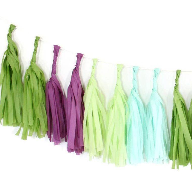 Succulent Tissue Garland Kit