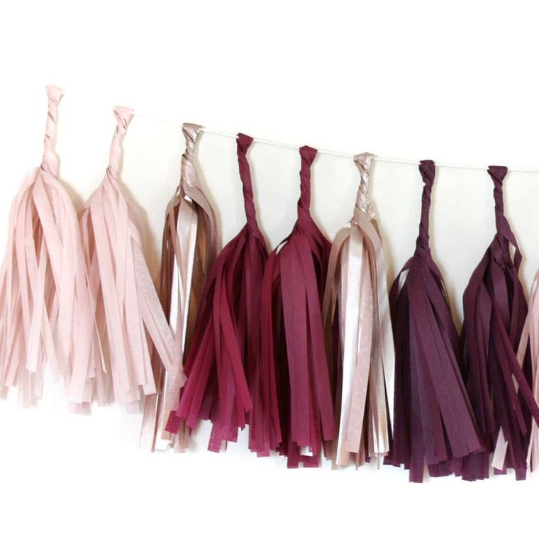 Sultry Tissue Garland Kit