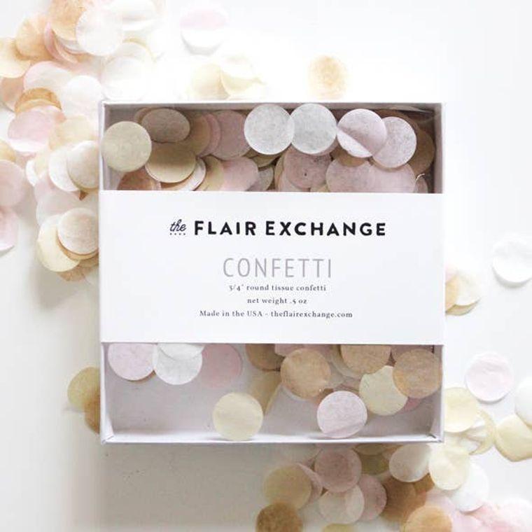 Blushing Hand-Cut Confetti