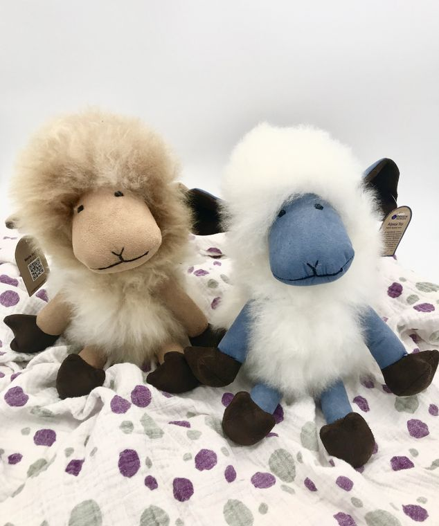 Handmade Alpaca Funny Sheep Toy