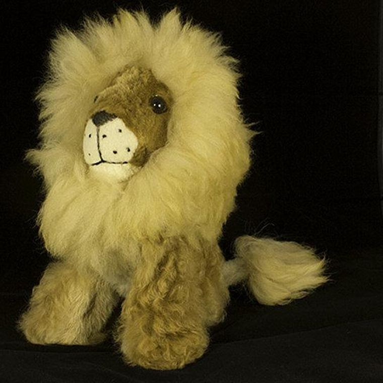 Handmade Alpaca Lion Toy