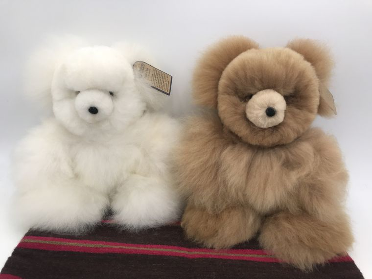 Handmade Alpaca Teddy Bear Toy (Large)