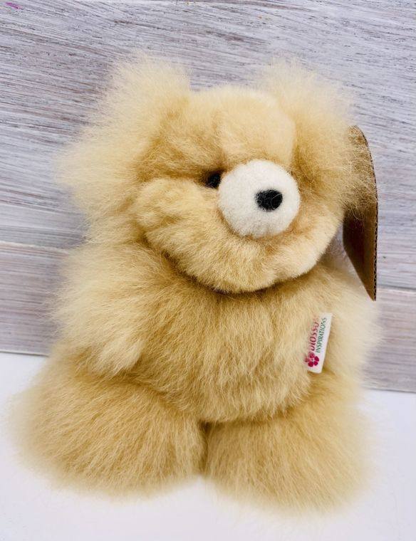 Handmade Alpaca Teddy Bear Toy (Little)