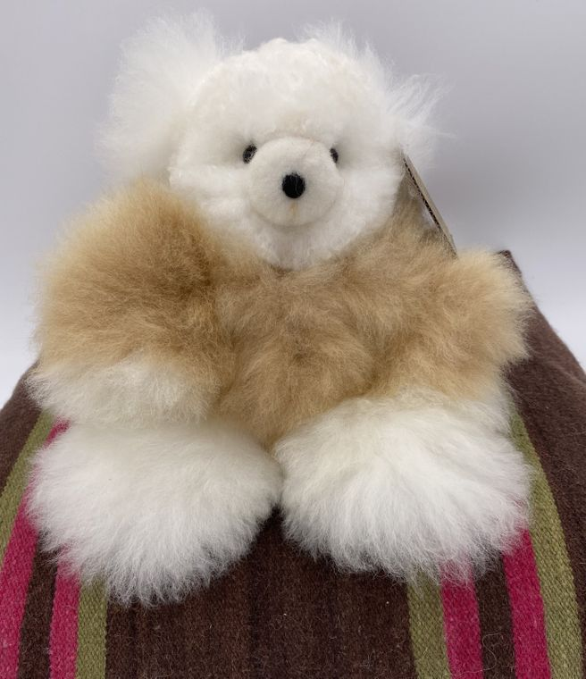 Handmade Alpaca Teddy Bear Toy (Medium)