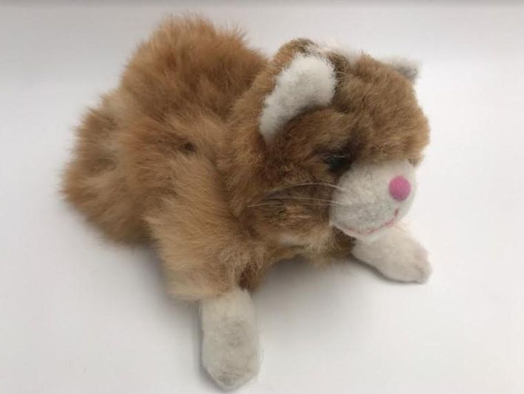 Handmade Kitty Alpaca Toy