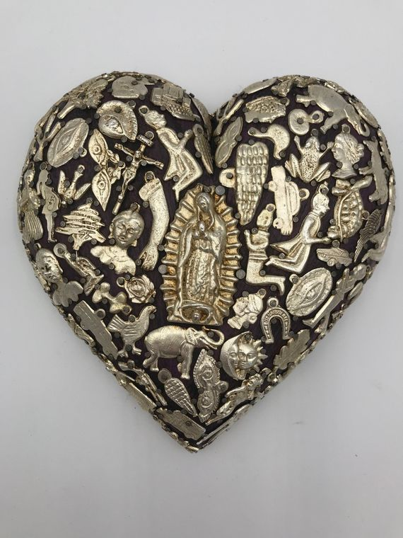 "Miracle ""Milagros"" Charm Heart Home Decor"