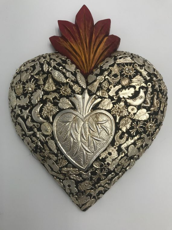 "Miracle ""Milagros"" Coronado Heart Home Decor"