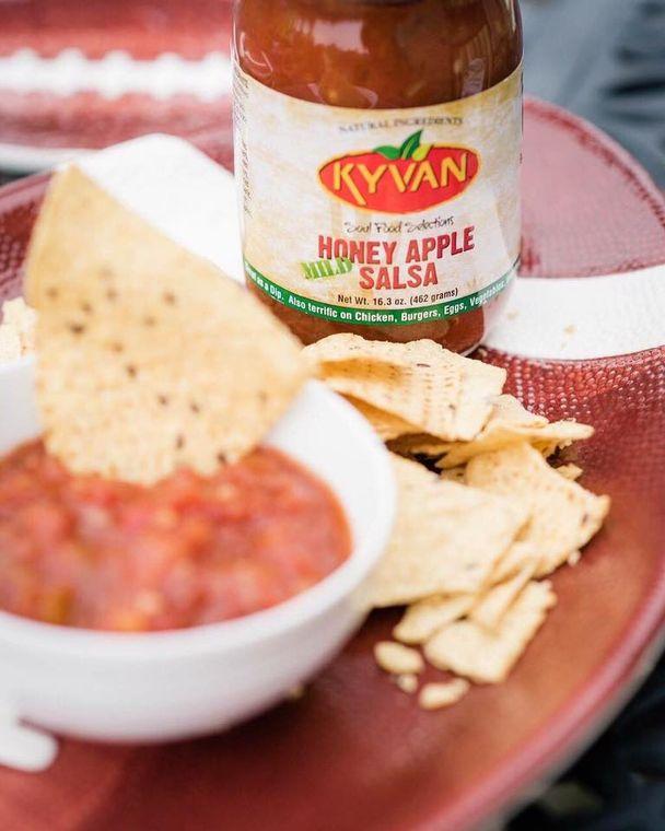 KYVAN Mild Honey Apple Salsa