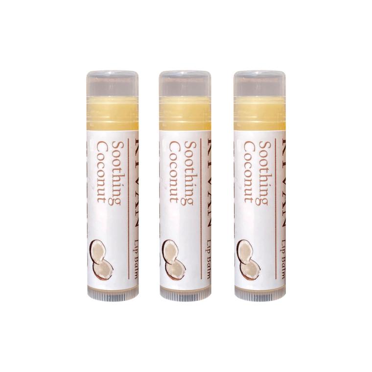 KYVAN Soothing Coconut Lip Balm - 3 pack