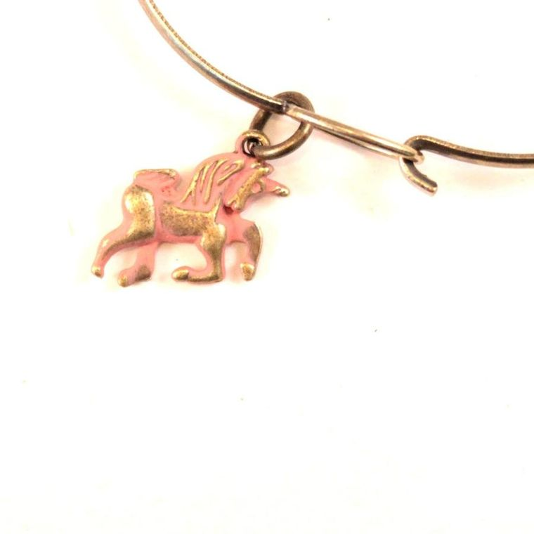 Unicorn Charm Necklace, Bracelet, or Charm Only