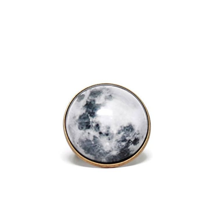 Moon Dome Ring