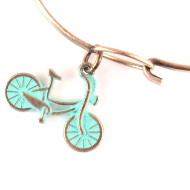 Bicycle Charm Necklace, Bracelet, or Charm Only