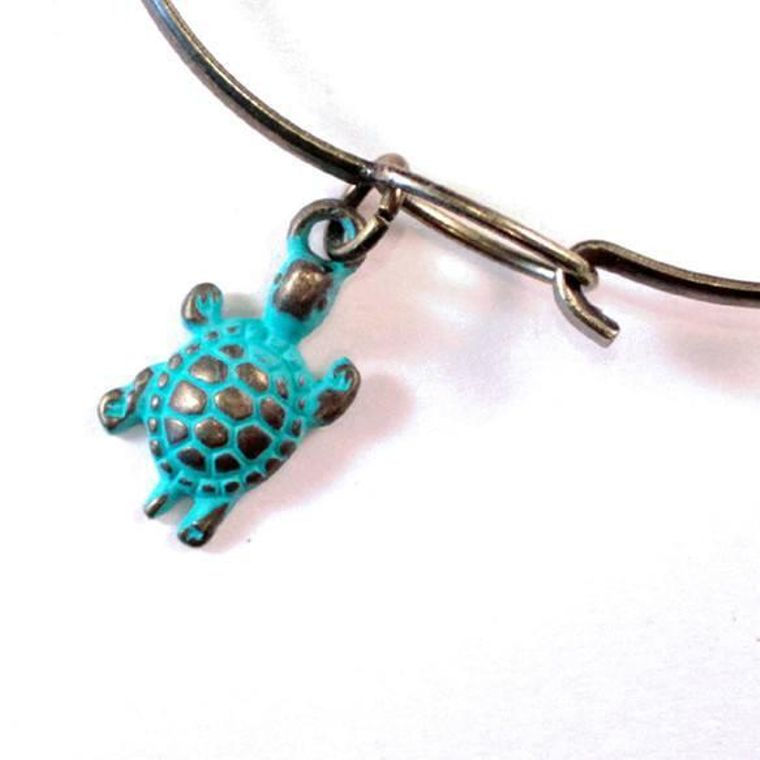 Turtle Charm Necklace