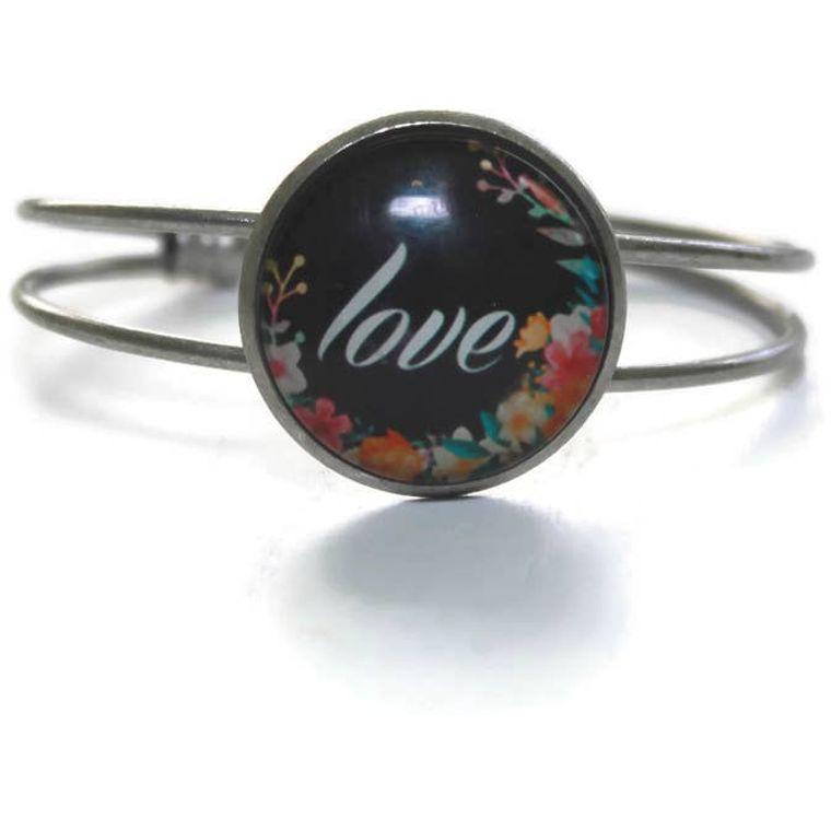 Love/Hope Cuff Bracelet