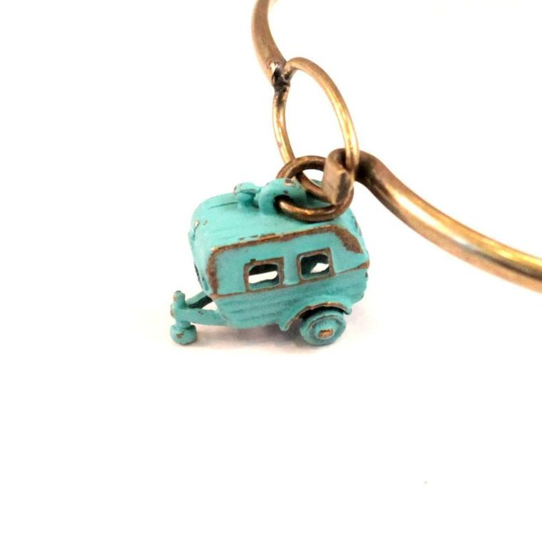 Camper Charm Necklace
