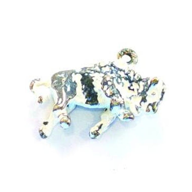 Buffalo Charm Earrings