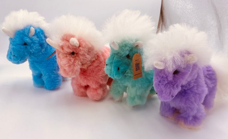 Unicorn Alpaca Fur Toy