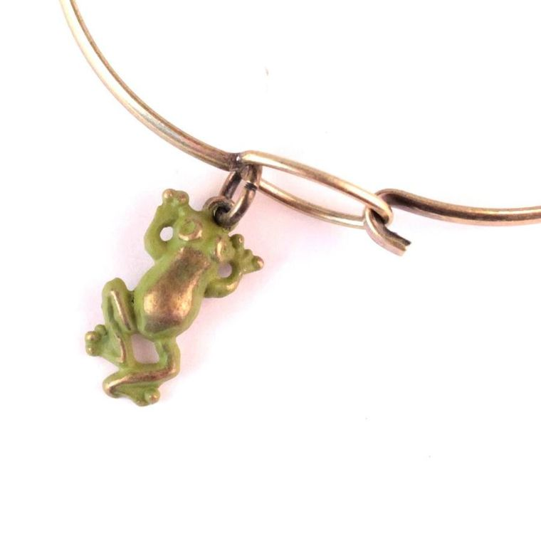 Frog Charm Bracelet