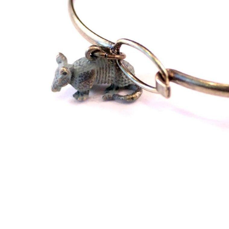 Armadillo Charm Bracelet