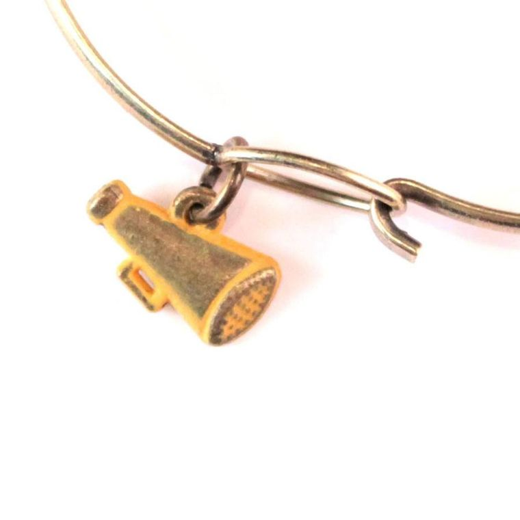 Megaphone Charm Bracelet