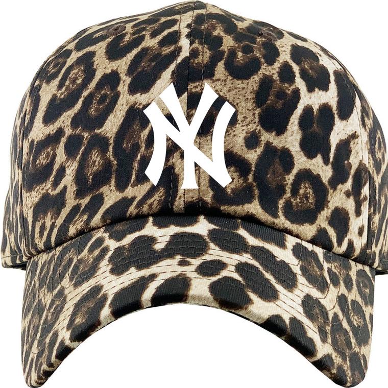 Leopard NY New York Yankees Hat