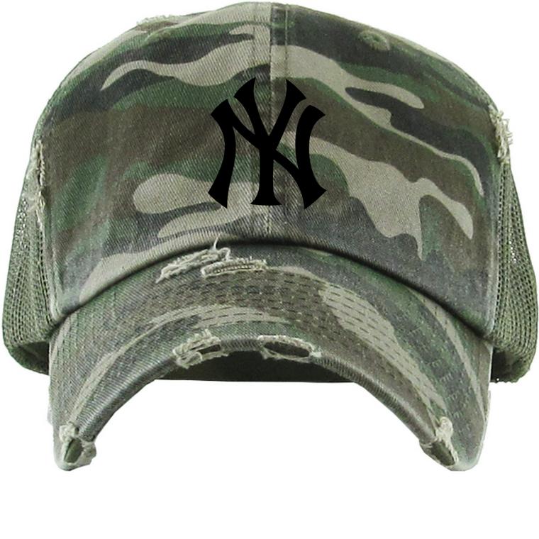 Camo NY New York Yankees Hat