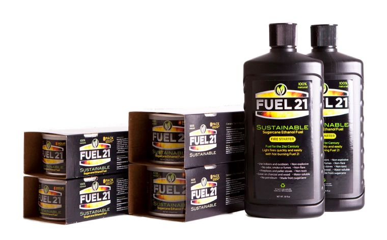 Fuel 21 two pack of 4 hour cans