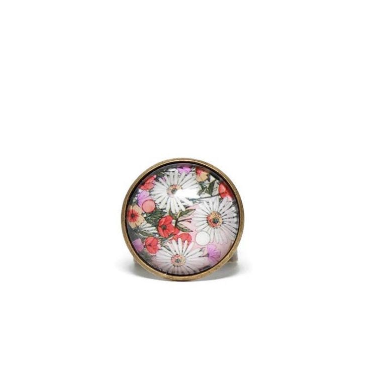 Flower Power Dome Ring