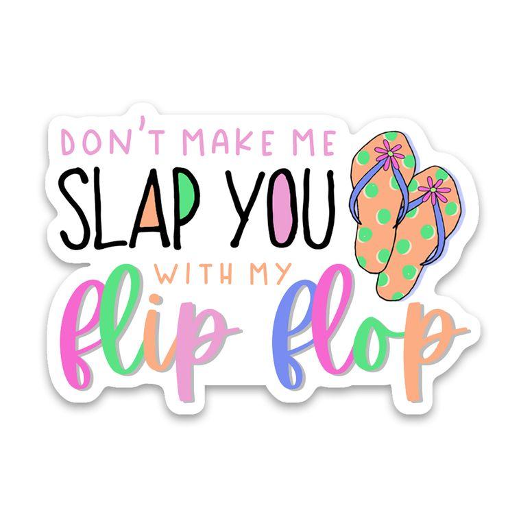 Sticker Flip Flop