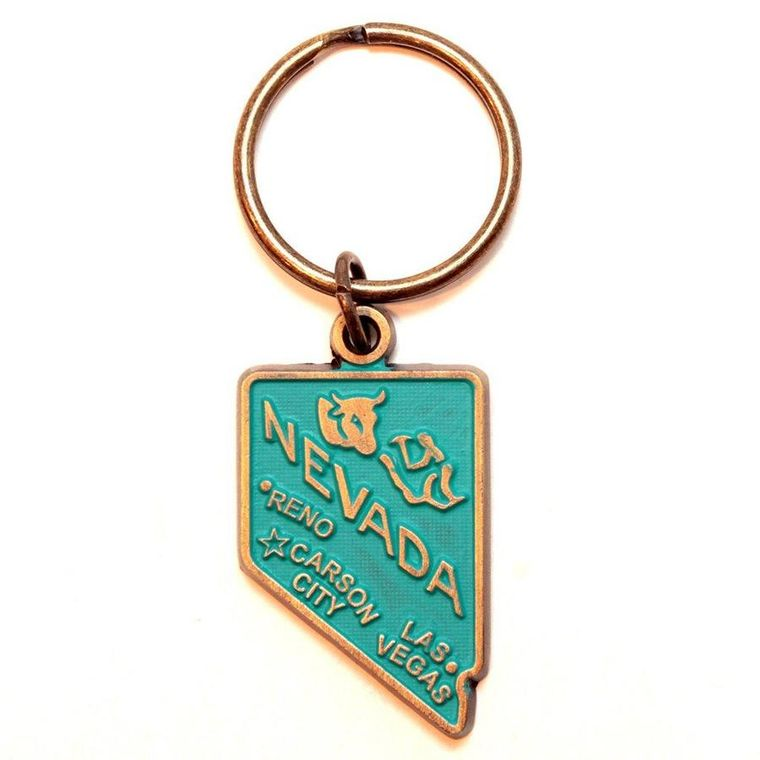 Nevada Keychain