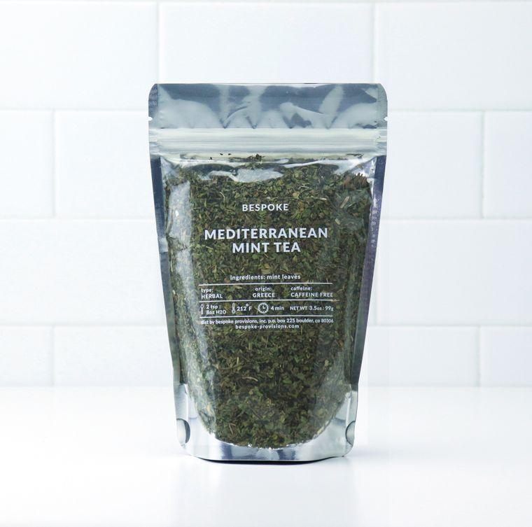 Mediterranean Mint Tea
