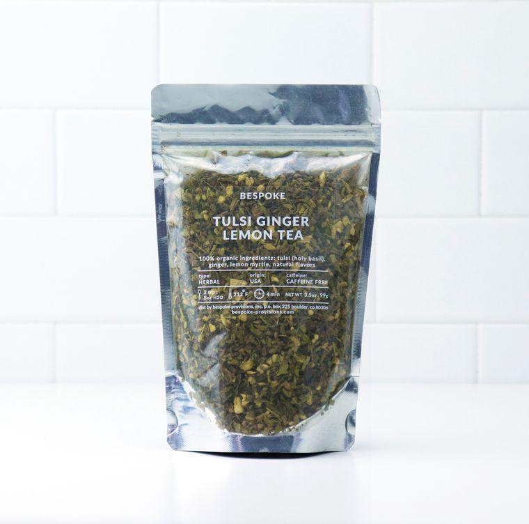 Tulsi Ginger Lemon Tea