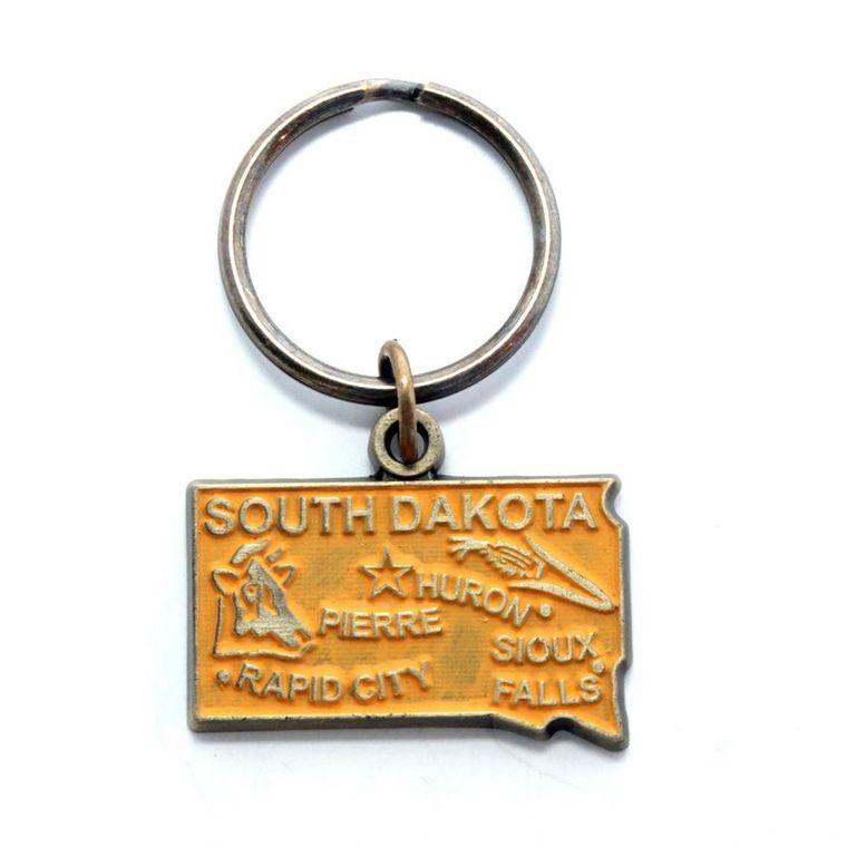 South Dakota Keychain
