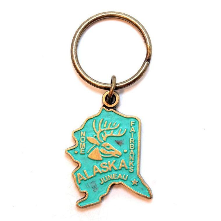 Alaska Keychain