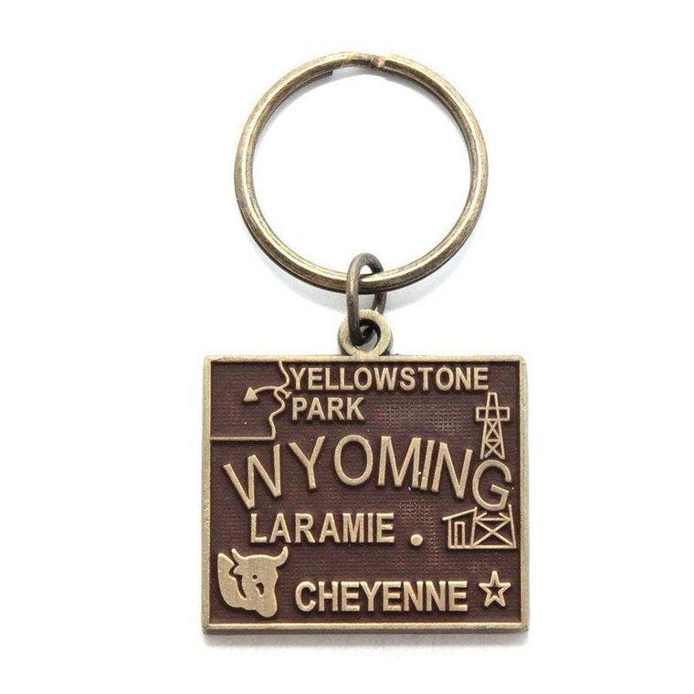 Wyoming Keychain