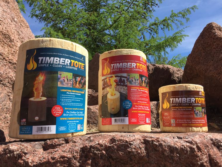 Timbertote One Log Campfire